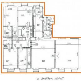 Prodej bytu 5+1 160 m² <br><span>Janáčkovo nábřeží, Praha 5 - Smíchov</span>